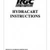 HYDRACART INSTRUCTIONS