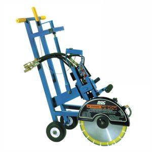 RGC Saw Cart with hydrasaw