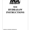 S14 HYDRASAW INSTRUCTIONS - Cover